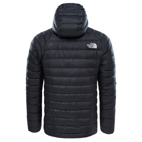 """The North Face M's Trevail Down Hoodie Tnf Blk Tnf Blk"""